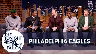 Download Jimmy Interviews the Super Bowl Champion Philadelphia Eagles Video