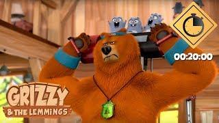 Download 20 minutes de Grizzy & les Lemmings // Compilation #03 - Grizzy & les Lemmings Video