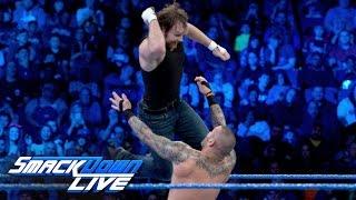 Download Dean Ambrose vs. Randy Orton: SmackDown LIVE, Jan. 17, 2017 Video
