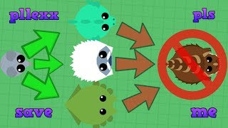 Download Mope.io How Not To Get Dino Monster. I Hate Recording Monster Updates!(Mope.io Dino Monster Ability) Video