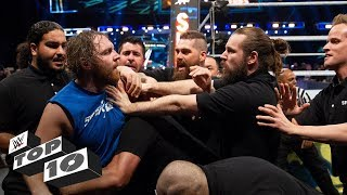 Download Security guards get wrecked: WWE Top 10, Oct. 20, 2018 Video