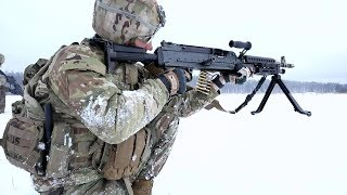 Download U.S. & U.K. Army Training In Poland • Winter Time Video