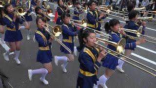 Download 光のアートフェスタin 山科 オープニングパレード 京都橘高校吹奏楽部 Kyoto Tachibana SHS Band Video
