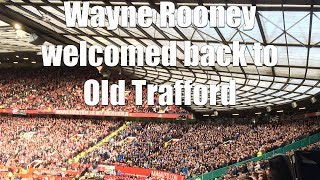 Download Team announcements at Old Trafford as Wayne Rooney returns with Everton Video