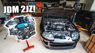 Download My JDM 2JZ-GTE GETS DELIVERED!! Video