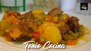 Download Estofado de Ternera guisada con patatas Video