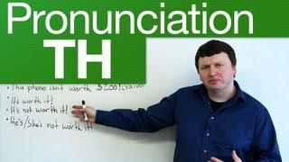 Download Pronunciation - TH - through, weather, lethal, breath, breathe Video