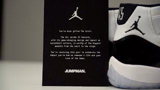 Download UNBOXING: IS The Air JORDAN 11 CONCORD Worth The Hype?? Video