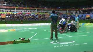 Download RIO PG Boccia BC3 Individual event Gold medal match Highlight Video
