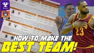 Download How to pick the BEST FANTASY Basketball Team! NBA 2017/2018 Season Video