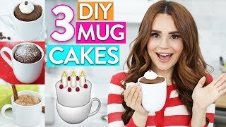 Download 3 EASY DIY MUG CAKES! Video