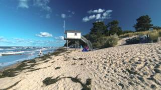 Download Insel USEDOM - Strandspaziergang in ZEMPIN | UsedomTravel Video