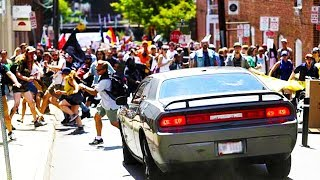Download Neo-Nazi Drives Through Crowd Of Protesters In Charlottesville (VIDEO) Video