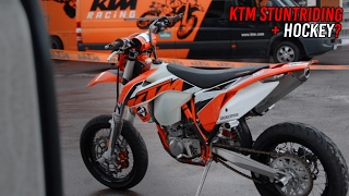 Download KTM stuntriding at HOCKEY arena [NTK EDIT] (Reupload) Video