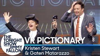 Download Virtual Reality Pictionary with Kristen Stewart, Gaten Matarazzo Video