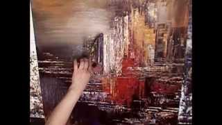 Download The Making of an Abstract Painting by Tatiana Iliina Video