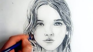Download How To Draw A Female Face: Step By Step Video