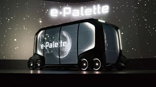 Download The Future of Cars - Toyota's e-Palette Electric Vehicle Video