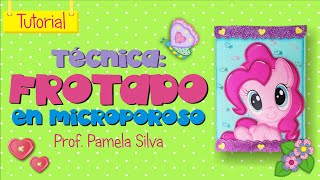 Download MANUALIDADES EN FOAMI - TÉCNICA DEL FROTADO (MICROPOROSO / GOMA EVA) Video