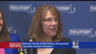 Download Winner Of $758 Million Powerball Jackpot Comes Forward To Claim Prize Video