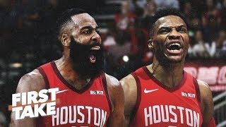 Download Are James Harden & Russell Westbrook a top duo in the NBA? | First Take Video