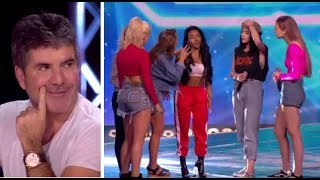 Download Simon Cowell PULLS a Girl From Her Band To Join NEW Girl Band | The X Factor UK 2017 Video