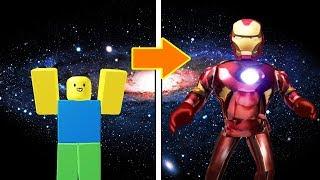 Download นูบตัวกาก!แปลงร่างเป็นไอรอนแมนฮีโร่อเวนเจอร์!   Roblox Infinity War Video