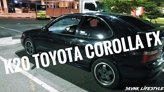Download K20 Toyota FX! Car! Bike! Quad! Stunting - SKUNK LIFESTYLE EPISODE 15 Video