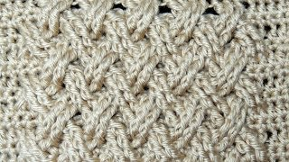 Download Crochet : Punto Entrecruzado Plano Video