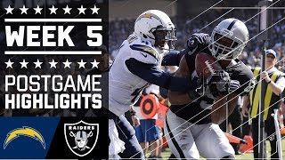 Download Chargers vs. Raiders | NFL Week 5 Game Highlights Video