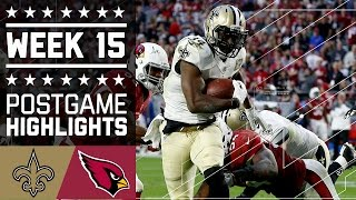 Download Saints vs. Cardinals | NFL Week 15 Game Highlights Video