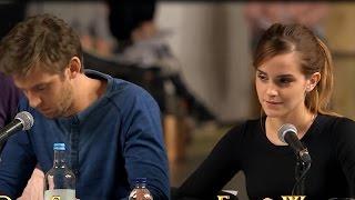 Download First Look At Emma Watson & Dan Stevens As Beauty & The Beast Video