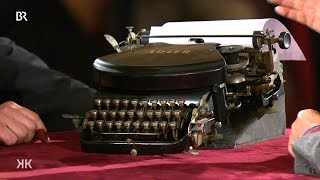Download Gut getippt: ″Schreibmaschine von Adler″ (Kunst + Krempel) Video