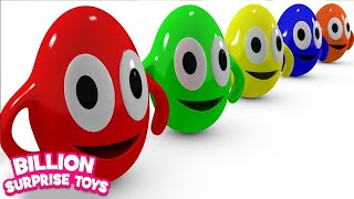 Download Funny Surprise Eggs Cartoons video for Children Video