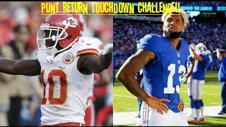 Download WHO CAN GET A PUNT RETURN TD FIRST?!? TYREEK HILL VS ODELL BECKHAM JR!! NO STOPPING THEM!! Video