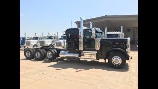 Download 2019 389 Peterbilt Heavy Haul 4 speed auxiliary transmission Video