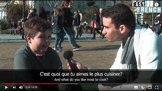 Download Easy French 24 - Qu'est-ce que tu veux faire quand tu seras grand? (I) Video
