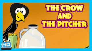 Download The Crow and The Pitcher Story | The Thirsty Crow Story In English by Kids Hut | Moral Story Video