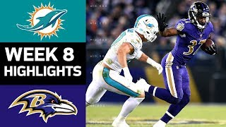 Download Dolphins vs. Ravens | NFL Week 8 Game Highlights Video
