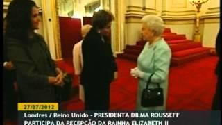 Download Dilma Rousseff é recebida pela rainha Elizabeth II no Palácio de Buckingham Video