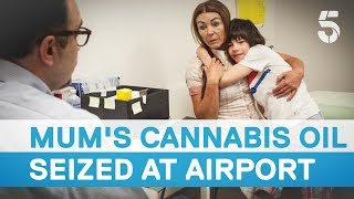 Download Cannabis oil for severely epileptic boy seized at Heathrow airport - 5 News Video