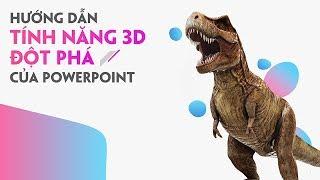 Download Hiệu ứng 3D trên Powerpoint 2016 - 3D Model & Aninmation Office 365 Video