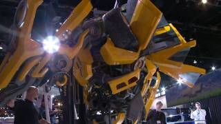 Download Lifesize Bumblebee Autobot Build Video