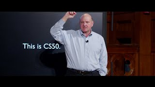 Download CS50 Lecture by Steve Ballmer Video
