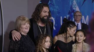 Download Aquaman Premiere B-Roll-Watch Jason Momoa Do The Haka Dance At Aquaman Premiere Video
