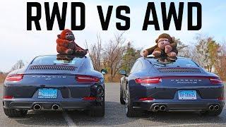 Download Porsche 911 2 vs 4 RWD vs AWD differences C2S vs C4S Video