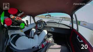 Download RACER: Gunnar Jeannette Passes 25 Cars In 2 Laps At Monterey Video