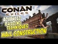 Download Wall Construction - Advanced Tutorial & Analysis of Different Methods - Conan Exiles Video