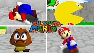 Download 15 FUN And SILLY Cheat Codes For Super Mario 64 Video