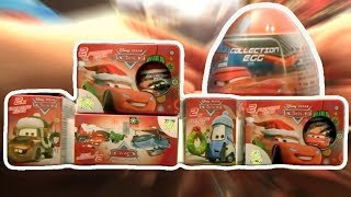 Download Cars 10 PIXAR Disney Kinder Surprise Eggs Lightning McQueen Video